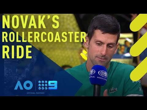 Novak Djokovic's rollercoaster Australian trip - in his own words | Wide World of Sports