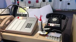 1A2 Key Telephone System Demonstration