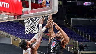 Kawhi Leonard Dunks on DeAndre Ayton! Beverley Ejected! 2020-21 NBA Season