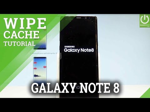 SAMSUNG Galaxy Note8 WIPE CACHE PARTITION / Format Cache