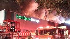 "LBFD / Long Beach Third Alarm Storage Fire / ""Extra Space Storage"" Fire"