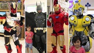 Ketemu Banyak Cosplay Superhero di Mall Baru Transmart Tasikmalaya