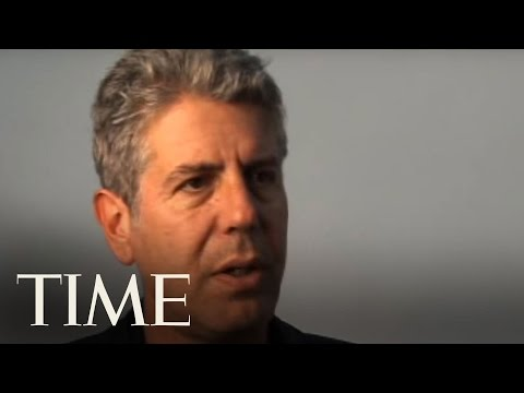Anthony Bourdain | TIME Magazine Interviews | TIME