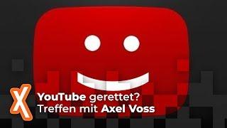 Haben wir YouTube gerettet? Treffen mit Axel Voss
