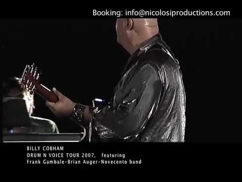 """Free Download Billy Cobham - Gambale- Brian Auger & Novecento """"2007 Live"""" Mp3 dan Mp4"""