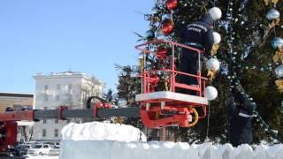 видео Гирлянда на новогоднюю елку TREE DAZZLER 64 лампы оптом