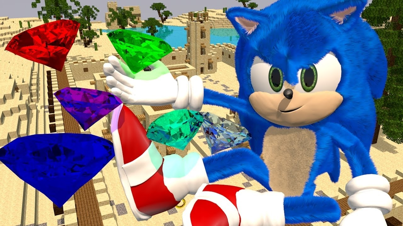 Sonic The Hedgehog Movie In Minecraft Episode 1 Official Minecraft Animation Series Youtube