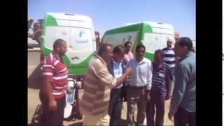 طاهر أبو زيد يتفقد عيادات عمال قناة السويس ويطالب الشعب بدعمهم