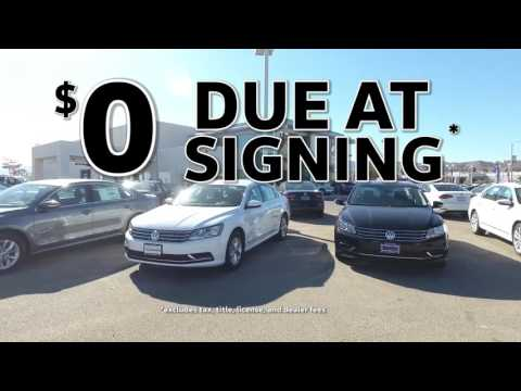 Sign The Drive is Back at Antelope Valley Volkswagen