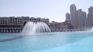 Dubai Mall Burj Khalifa Fountains O Mio Babbino Caro