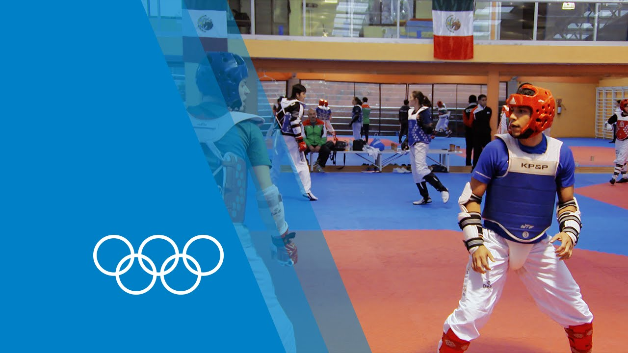 caf83b1615ce3 Taekwondo training in Mexico | Making of an Olympian - YouTube
