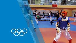 Taekwondo training in Mexico | Making of an Olympian