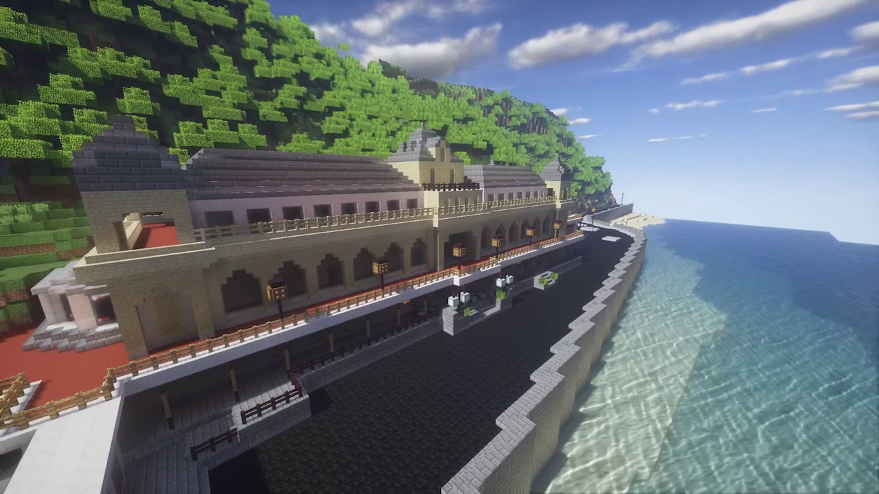 Building Scarborough In Minecraft Youtube