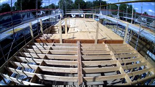 Habitat Nova Second Floor Framing
