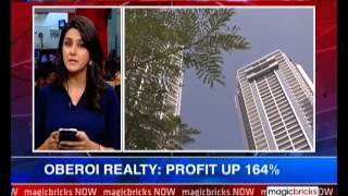 The News - Oberoi Realty: Profit up by 164%