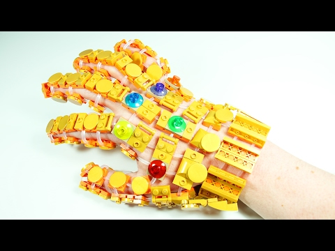 How to Build LEGO Infinity Gauntlet | Flexo LEGO Compatible