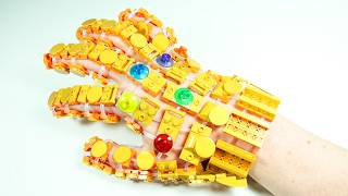 How to Build LEGO Infinity Gauntlet   Flexo LEGO Compatible Product Review