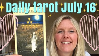 Daily Tarot July 16, 2018 ~ You Again!! Walking Away...
