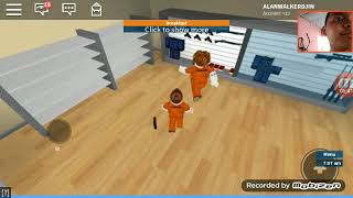 Play Roblox so the villain and the police guy's game noob. #Roblox Indonesia