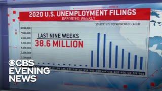 2.4 million unemployment claims filed last week due to coronavirus