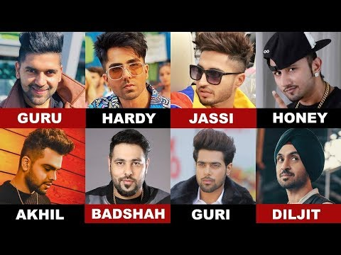 Battle Of Voice - Guru Vs Hardy Vs Jassi Vs Guri Vs Badshah Vs Honey Singh Vs Akhil Vs Diljit