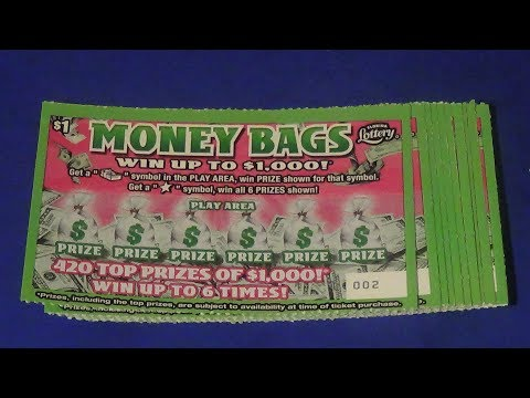 Scratchers On Other Days 271: TEN $1 MONEY BAGS FL Lottery Tickets