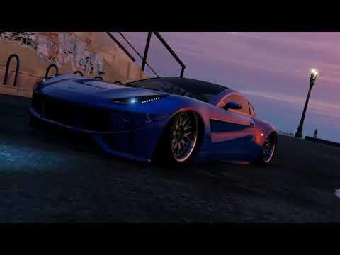 Clean GTA V Tuner Car Meet