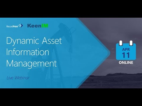 Dynamic Asset Information Management in Resource Industries