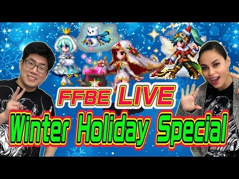 【FFBE LIVE】FINAL FANTASY BRAVE EXVIUS -Winter Holiday Special!-【Global】