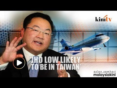 Report: Jho Low likely to be residing in Taiwan