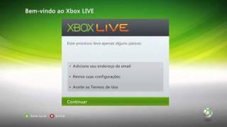 Como Criar uma Conta na Xbox live  ( PT - BR )