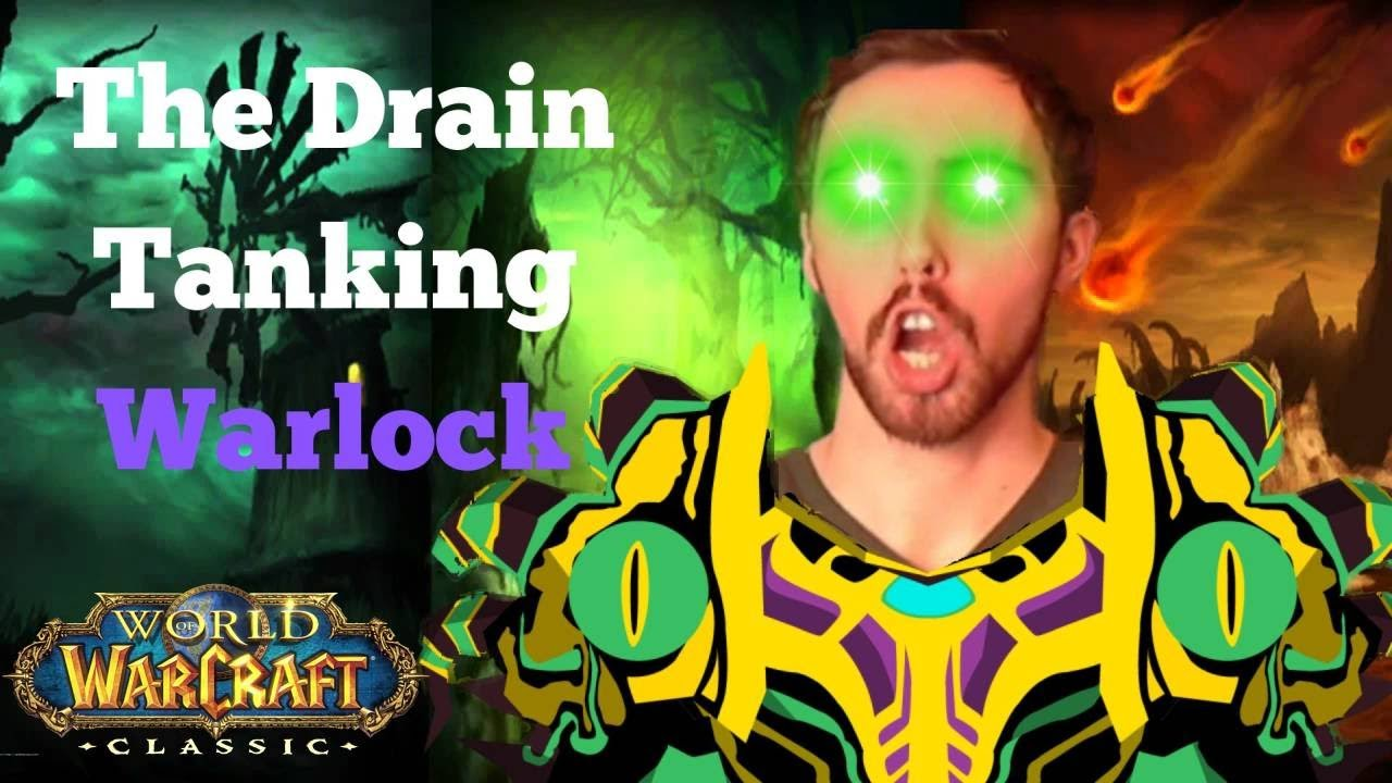 Warlock Leveling Guide For Classic The Drain Tanking Guide Youtube