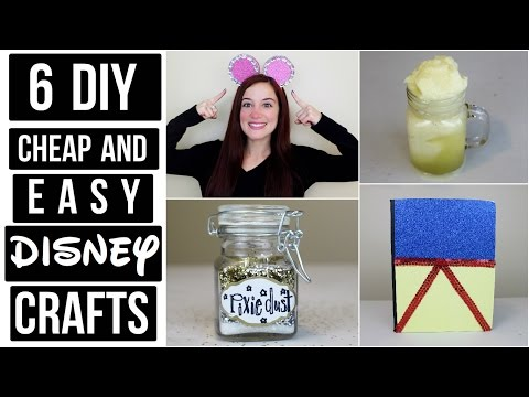 CHEAP AND EASY DISNEY DIY CRAFT IDEAS #2 | PINTEREST INSPIRED