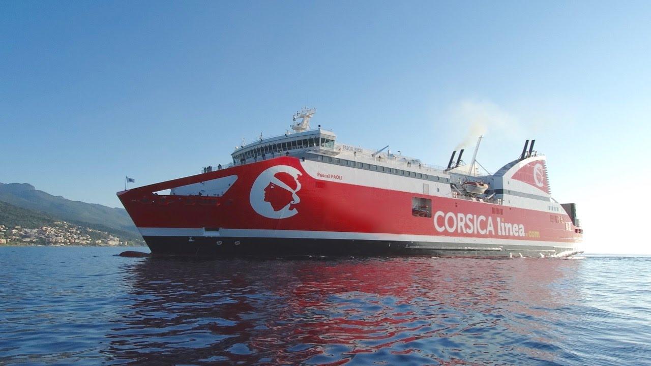Pascal paoli corsica linea youtube - Bastia marseille bateau ...