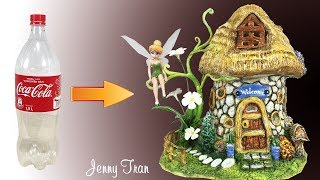 DIY Fairy House Lamp Using Plastic Bottles | Craft Ideas |