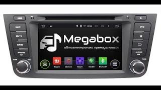 Обзор автомагнитолы Megabox V1-7047 Android OS для Geely Emgrand X7
