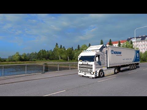 Helsinki to Umea (Umeå) - Truck Trip Timelapse - Euro Truck Simulator 2