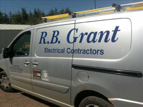 Electrician Fife Scotland RB Grant Electrical Contractor security and fire alarm installer
