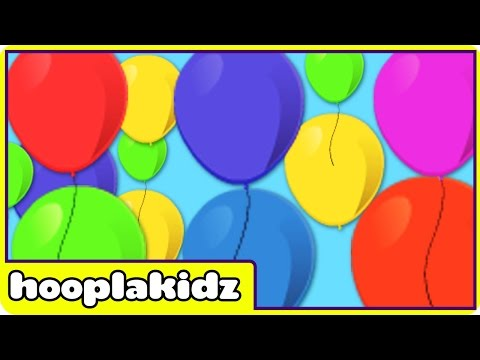 Color Songs  Learning  for Kids  HooplaKidz