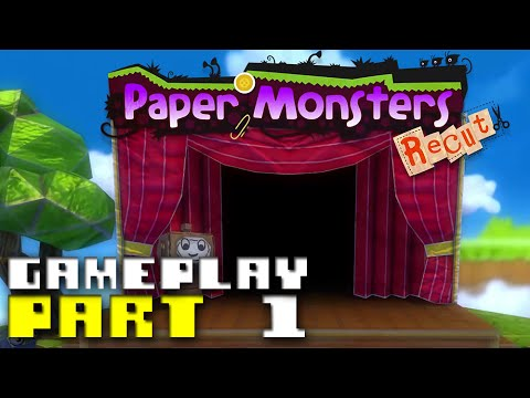Paper Monsters Recut - Gameplay Part 1