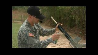 Camouflaging your rifle