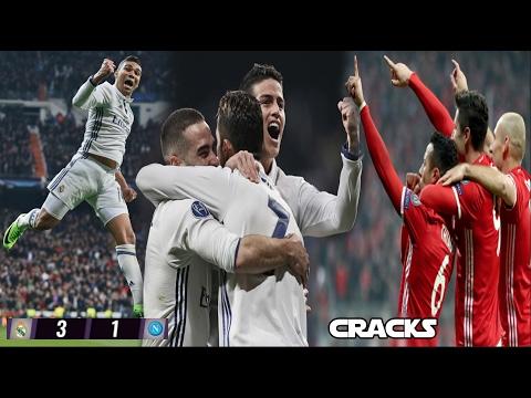 VOLTERETA del MADRID al NÁPOLES (3-1) | RAMOS se alegró por la derrota del BARÇA |  JAMES SE QUEDA