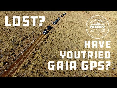 Learn how to use Gaia GPS for Overlanding
