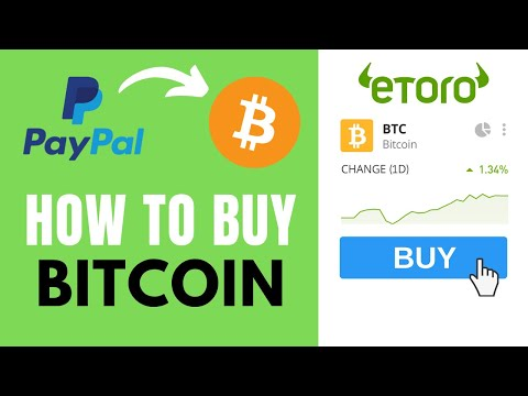 How To Buy Bitcoin (BTC) With PayPal On EToro ✅ Step-by-Step Tutorial