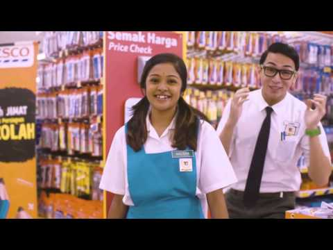 Tesco Back to School with Oh My English