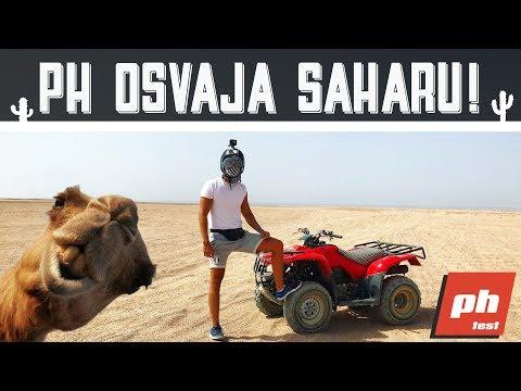 PH OSVAJA SAHARU! TEST KAMILE 4X4 i HONDA ATV Vlog-Test