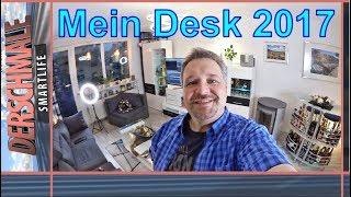Mein Studio, mein Equipment, mein Desk ☛ Die ultimative Desk Setup Tour 2017!