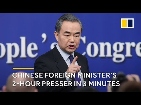 China Two Sessions: Chinese Foreign Minister's 2-hour press conference in 3 minutes
