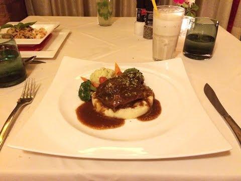 Dinner at Moonlight Pattaya Fine Dining Restaurant
