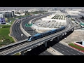 Dubai drive   driving on sheikh zyed road 2017